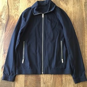 Theory Black Zip-Front Jacket